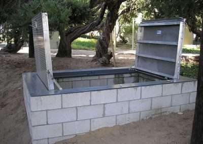 """ Your needed size""  is our standard size… Build what you need and  We`ll fabricate to fit."