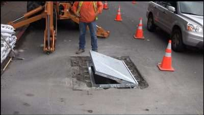 Foster City Direct Traffic location. (see video) Installation complete start to finish in less than 4 hours in direct traffic location.