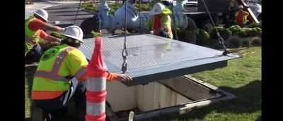 Lancaster Calif. Installation. (See Video) County of Los Angles has made VAS a preferred vender of choice to Retrofit up to safer standards for both the public and crew workers minimizing injury in the field.